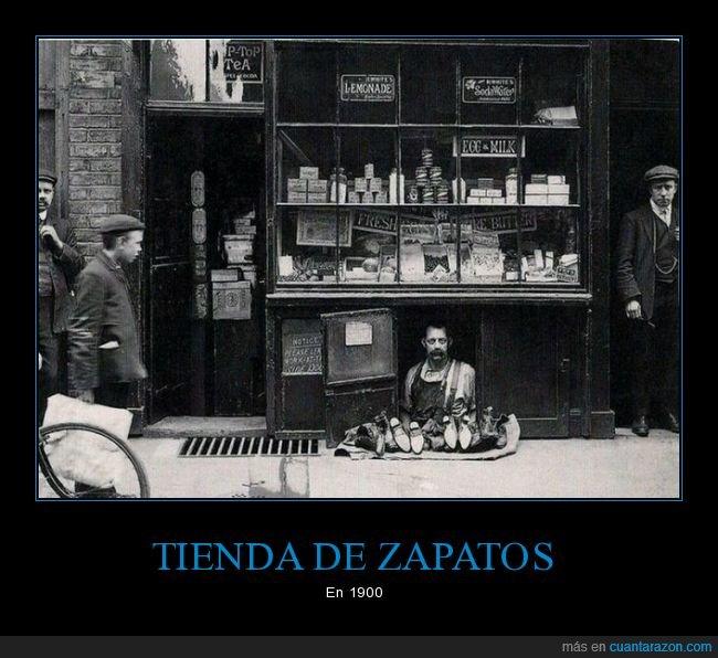 1900,retro,tienda,zapatos