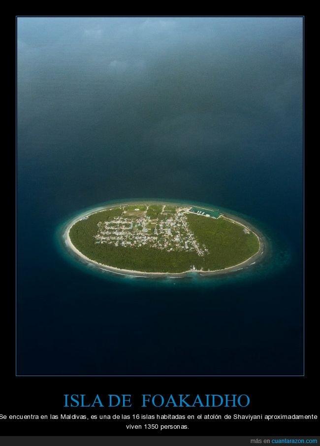 curiosidades,foakaidho,isla,maldivas