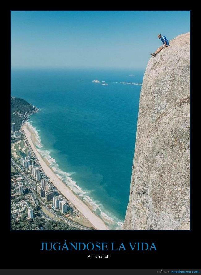 foto,precipicio,roca