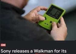 Enlace a Un walkman muy peculiar