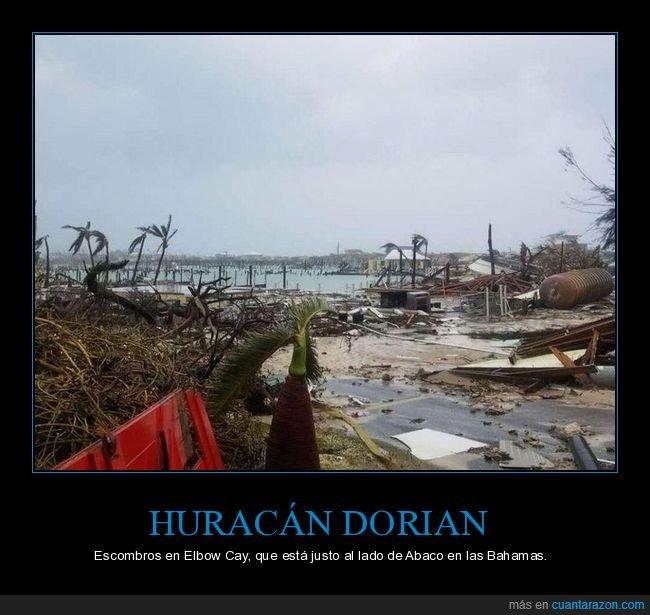 dorian,elbow cay,escombros,huracán