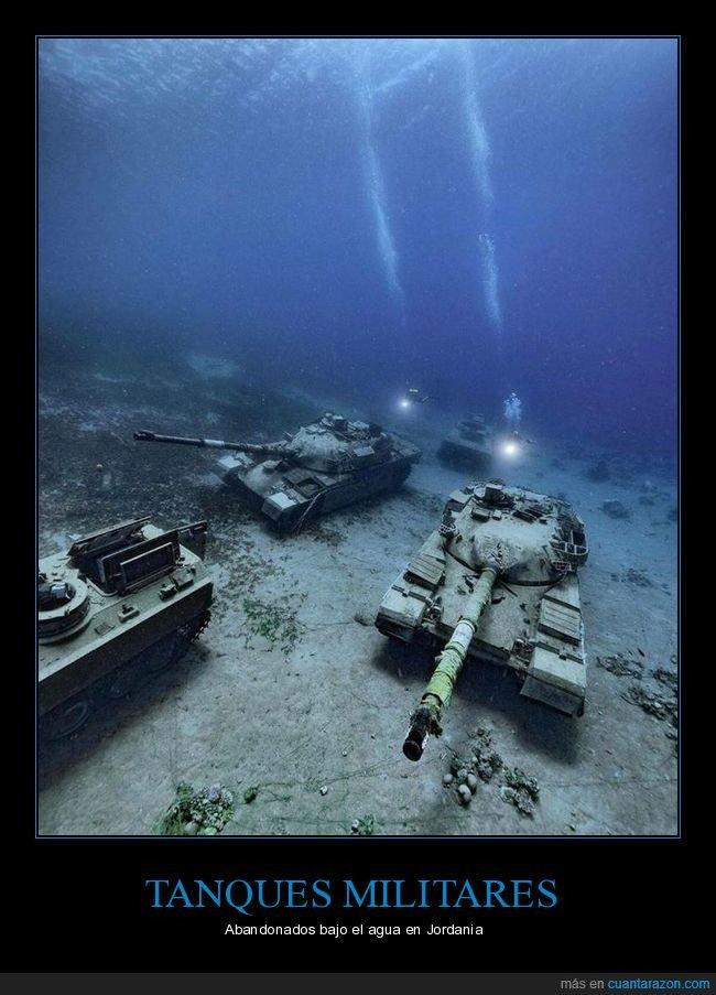 abandonados,agua,jordania,tanques
