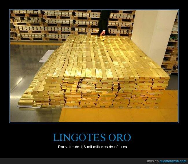 lingotes,oro,valor