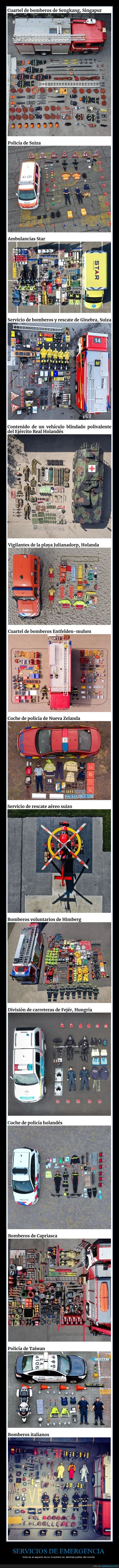 inventario,servicios de emergencia