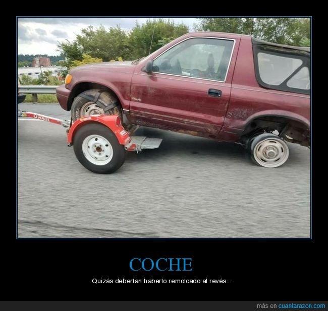 coche,fails,remolque,rueda