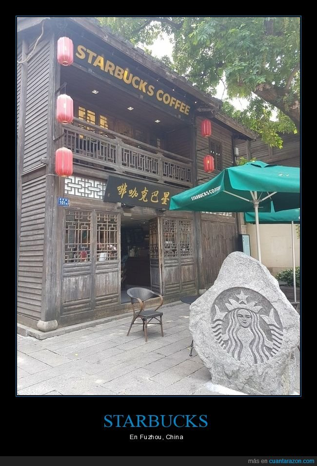 china,fuzhou,starbucks