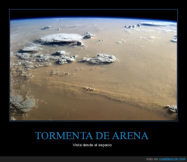 espacio,sahara,tormenta de arena