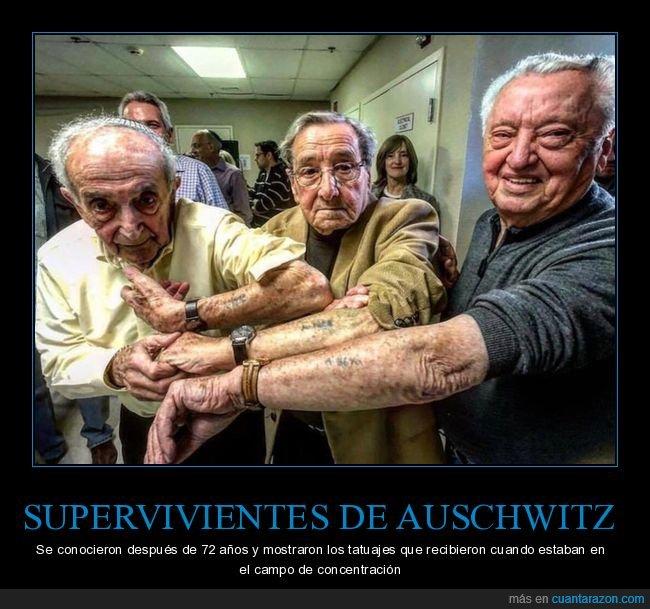 auschwitz,campo de concentración,supervivientes,tatuajes