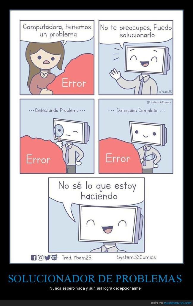 ordenador,problema,solucionar