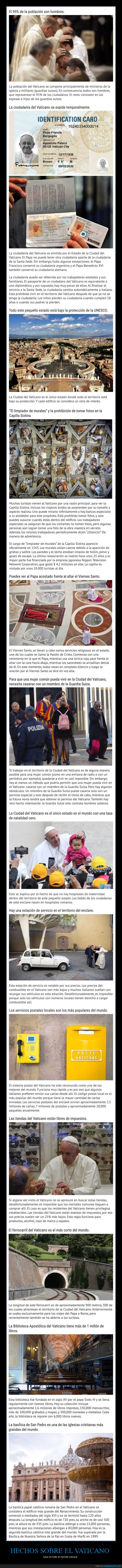 curiosidades,vaticano