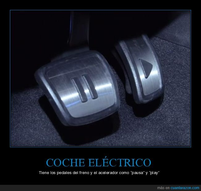 acelerador,coche eléctrico,freno,pausa,pedales,play