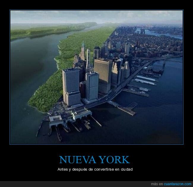 antes,ciudad,después,nueva york