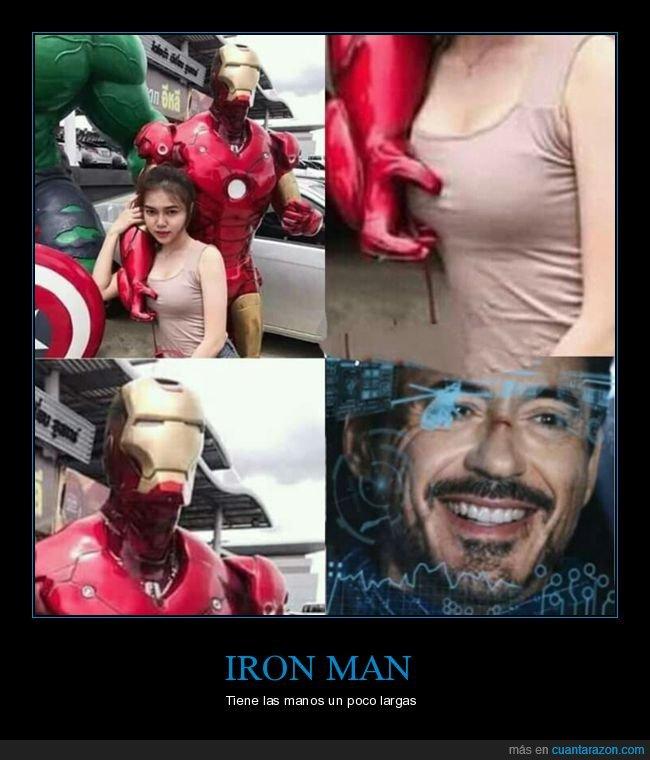 iron man,tocando