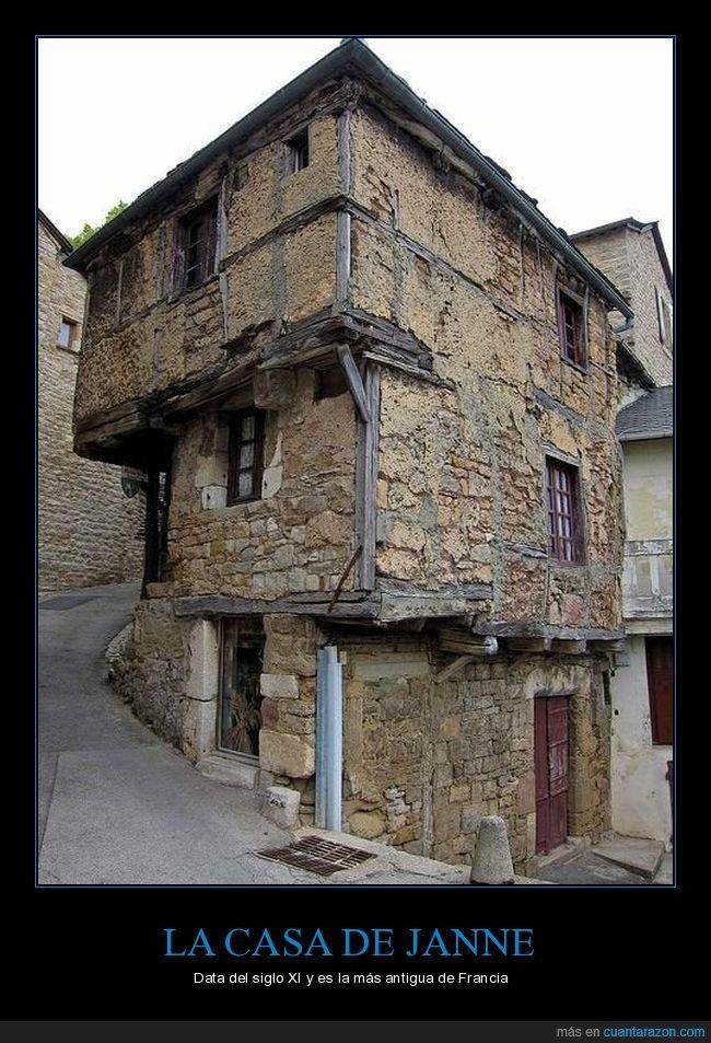 antigua,casa,francia