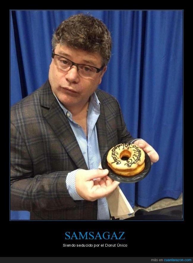 donut,el señor de los anillos,sean astin