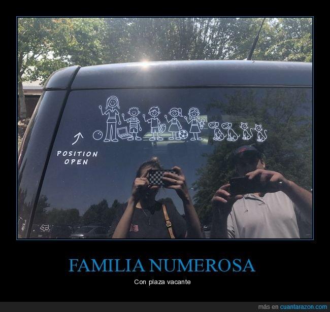 coche,familia,pegatina