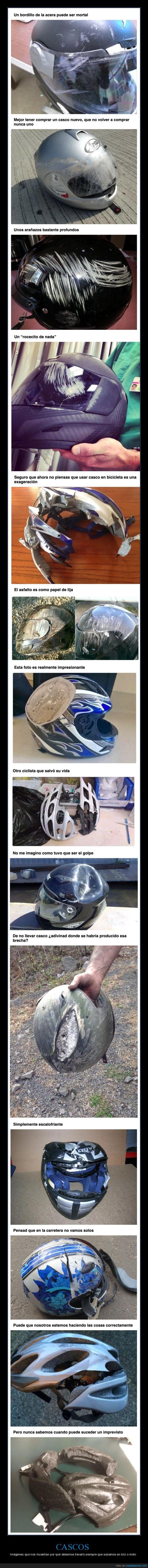 bicicleta,cascos,moto