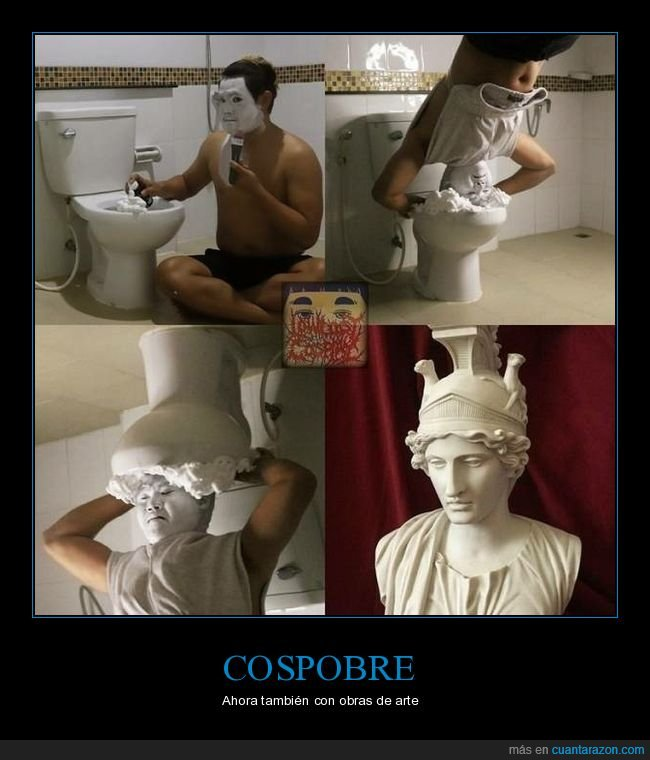 cospobre,escultura,lowcost cosplay