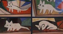 Enlace a Gatos abstractos