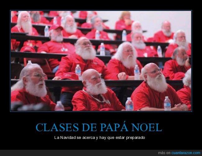 clases,papá noel,wtf