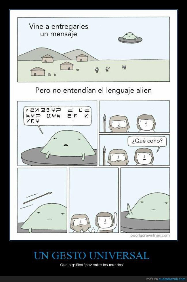 dedo,entender,extraterrestres,lenguaje