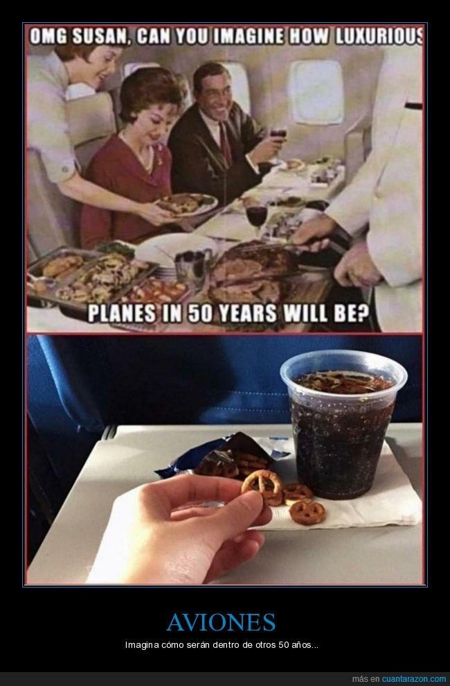 50 años,avión,imaginar