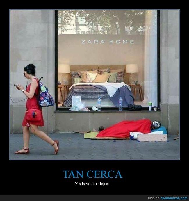 cama,durmiendo,indigente,zara home