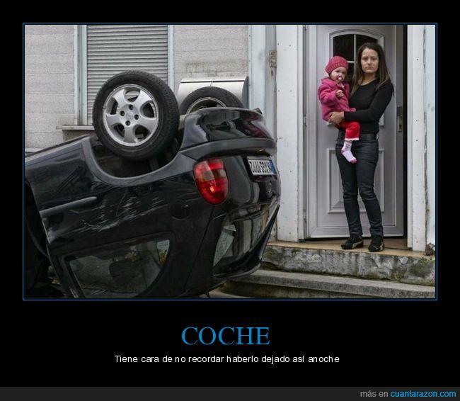 bocabajo,coche,volcado