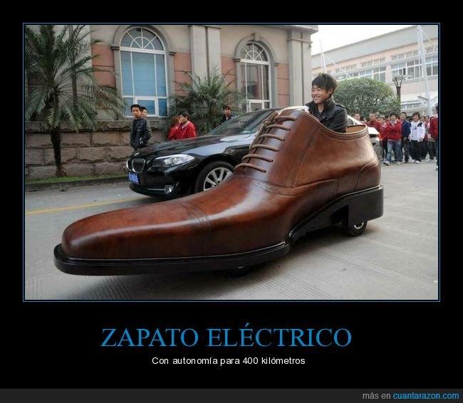automóvil,eléctrico,zapato