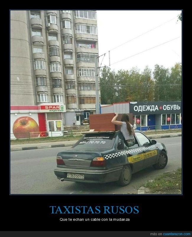 mueble,taxi,transportando