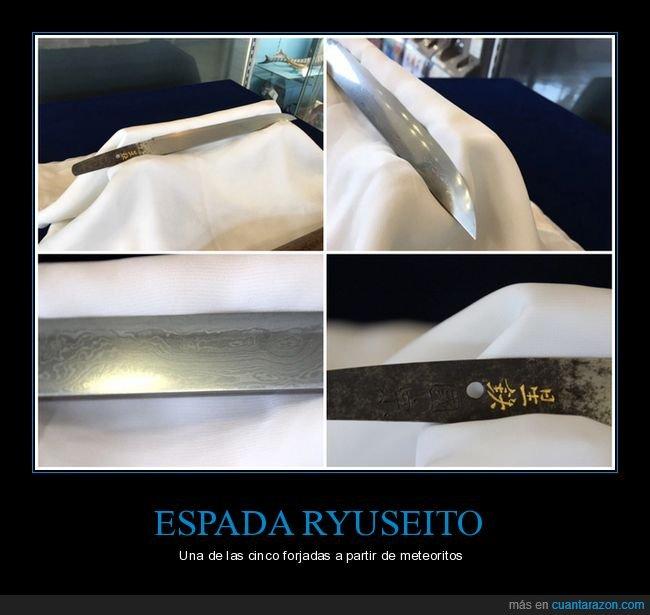 espada,forjada,meteorito,ryuseito