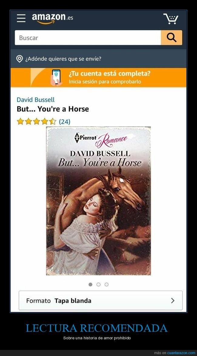 caballo,libro,wtf