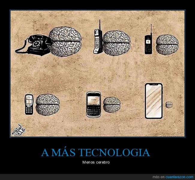 cerebro,tamaño,teléfono