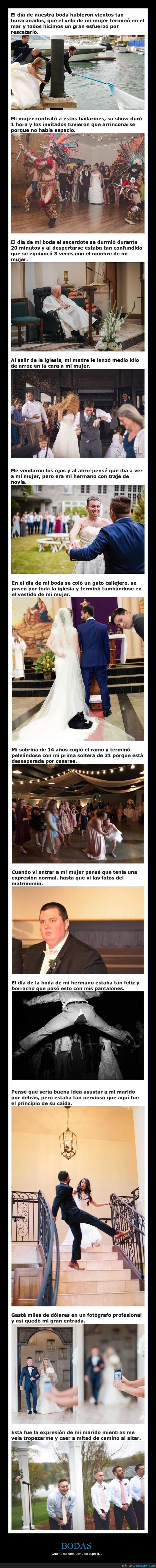 bodas,fails