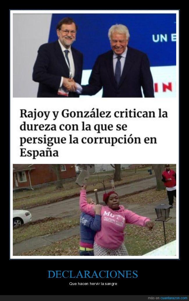 corrupción,criticar,dureza,felipe gonzález,políticos,rajoy