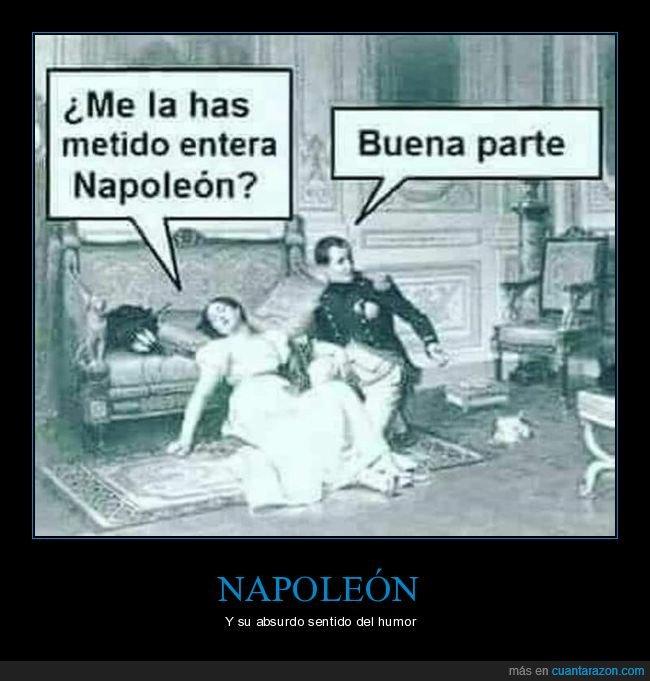bonaparte,buena parte,entera,meter,napoleón
