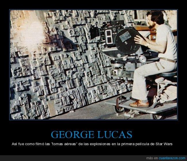 cine,detrás de las cámaras,george lucas,star wars