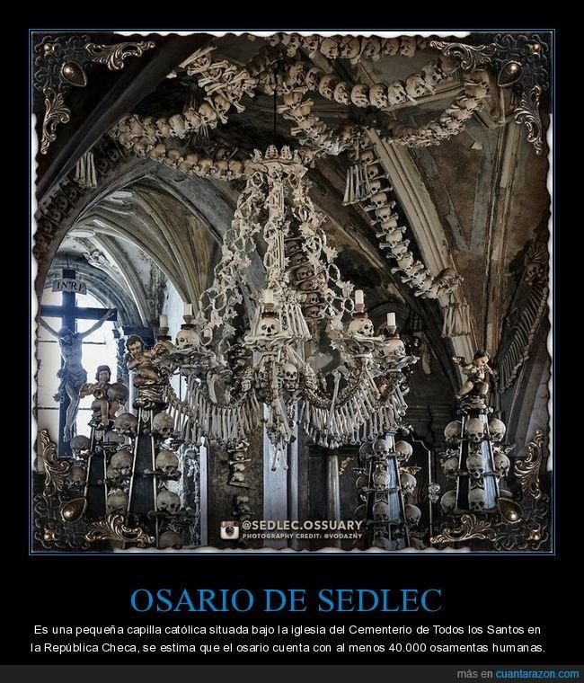 capilla,curiosidades,osario de sedlec,república checa