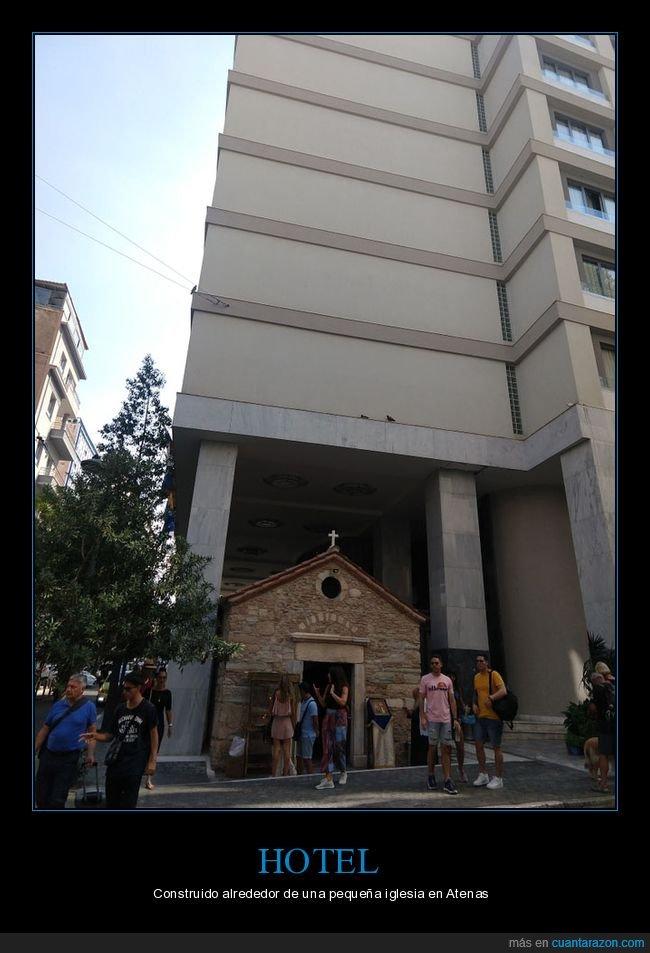 atenas,construido,hotel,iglesia
