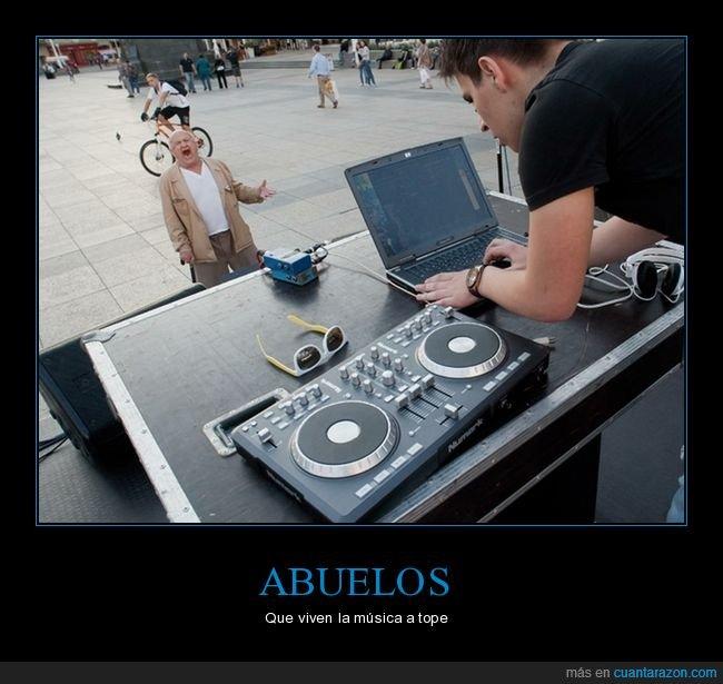 abuelo,dj,música