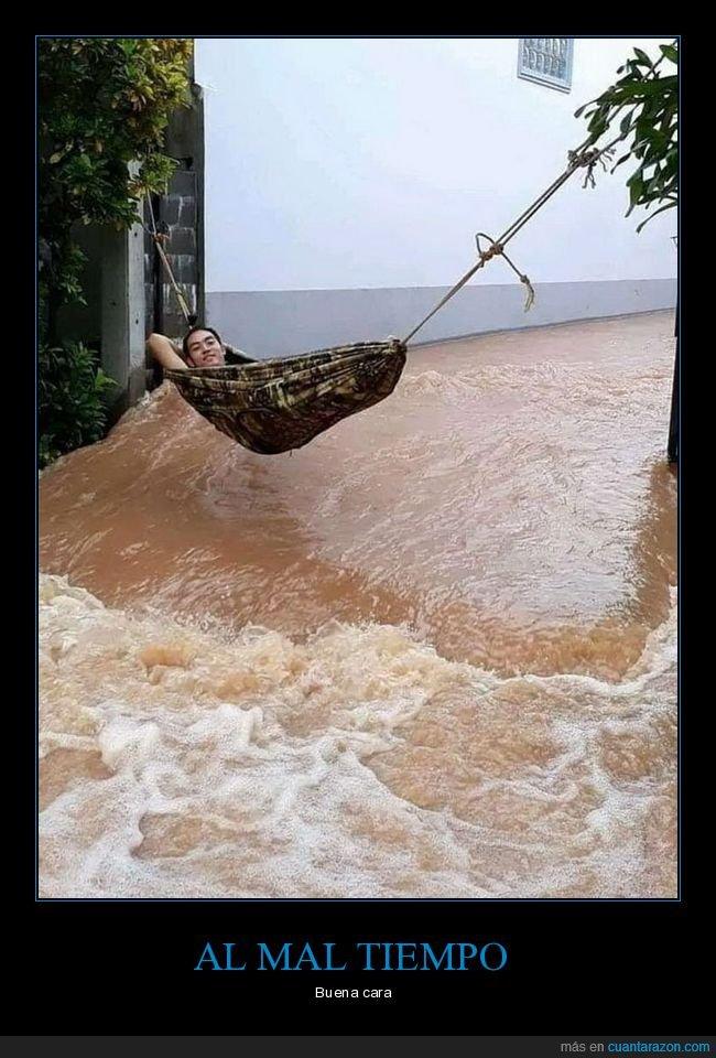 hamaca,inundación,raida