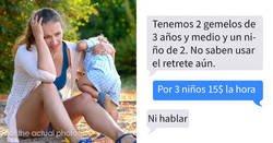 Enlace a Esta niñera comparte los mensajes de unos padres que buscaban a alguien a quien explotar como mano de obra barata