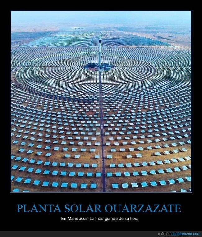 marruecos,ouarzazate,planta solar