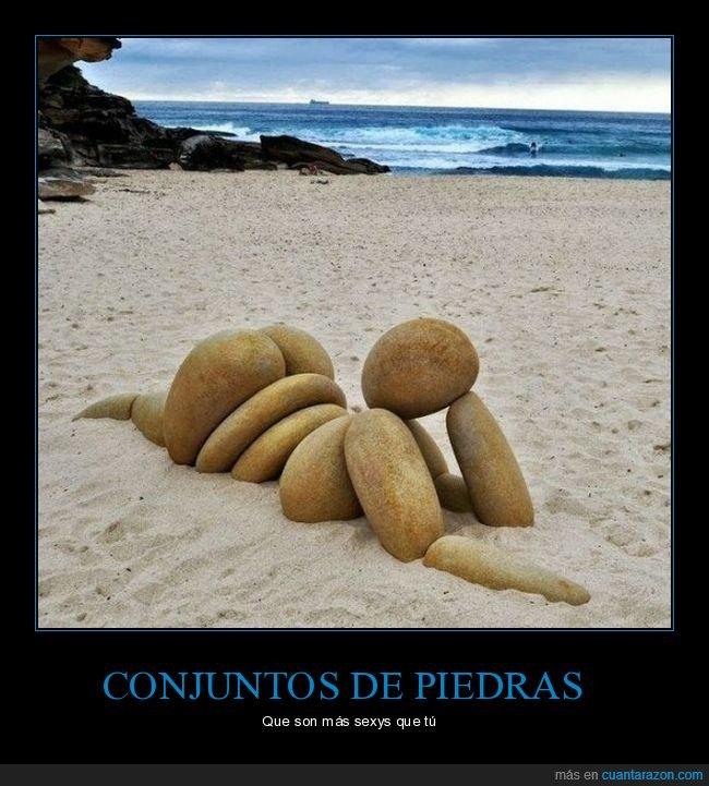 piedras,playa,sensual