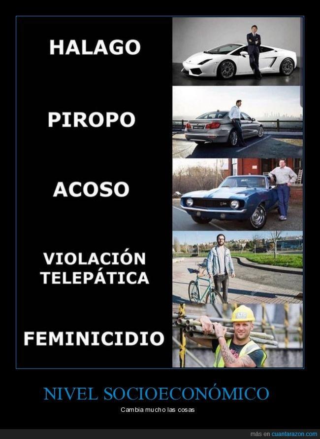 acoso,feminicidio,halago,piropo,violación telepática