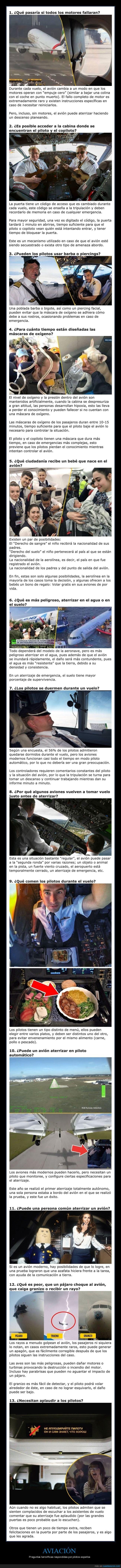 aviación,aviones,pilotos,preguntas,respuestas