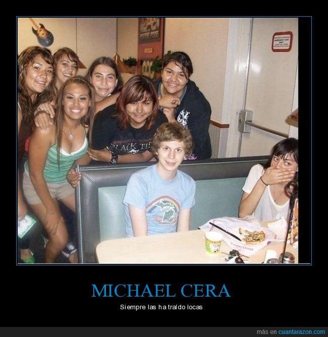 chicas,michael cera