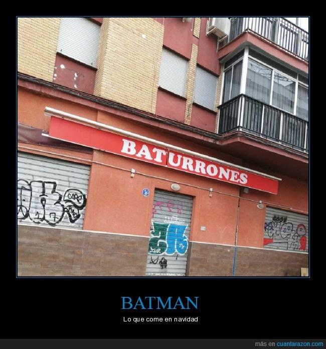batman,comer,navidad,turrones