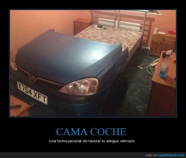 cama,coche,wtf