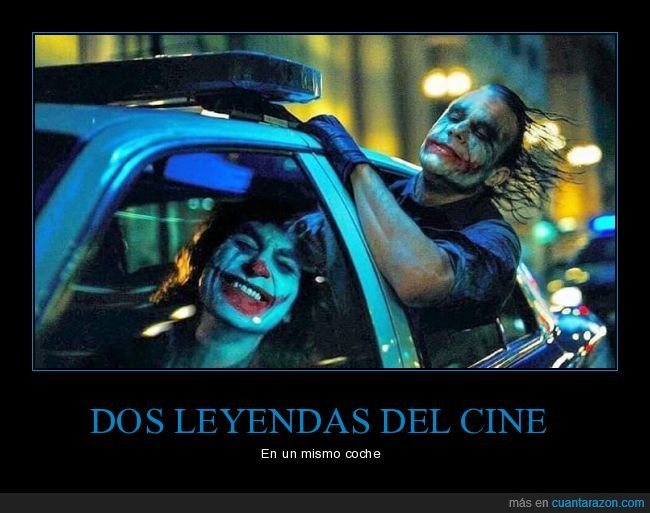 cine,heath ledger,joaquin phoenix,joker